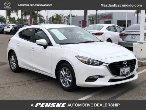 Certified Pre-Owned 2018 Mazda3 5-Door 5-DOOR SPORT AUTO