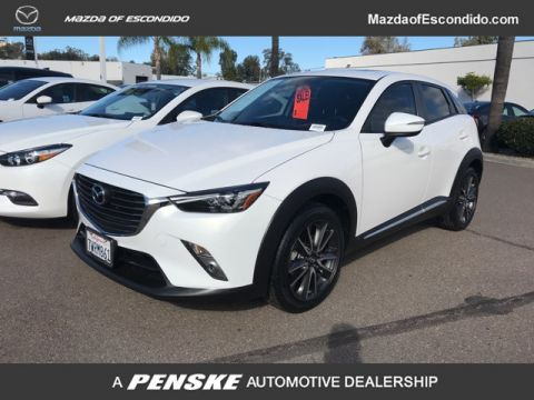 Certified Pre-Owned 2017 Mazda CX-3 4DR FWD GRAND TOUR