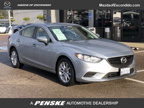 Pre-Owned 2016 Mazda6 4DR SDN SPORT AT