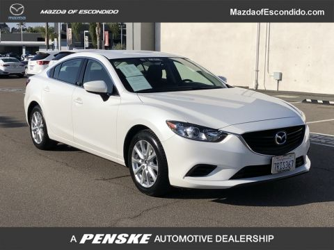 Certified Pre-Owned 2016 Mazda6 4DR SDN SPORT AT