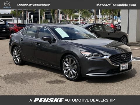 Certified Pre-Owned 2018 Mazda6 Signature Automatic