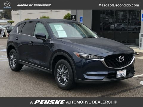 Certified Pre-Owned 2017 Mazda CX-5 4DR SUV TOURING FWD