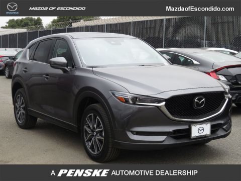 New 2018 Mazda CX-5 Grand Touring FWD With Navigation