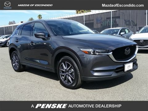 New 2018 Mazda CX-5 Grand Touring AWD With Navigation & AWD