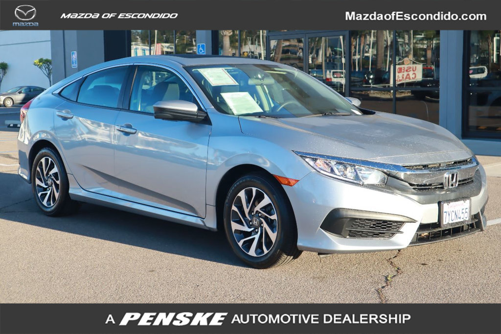 Pre-Owned 2017 Honda Civic Sedan EX CVT