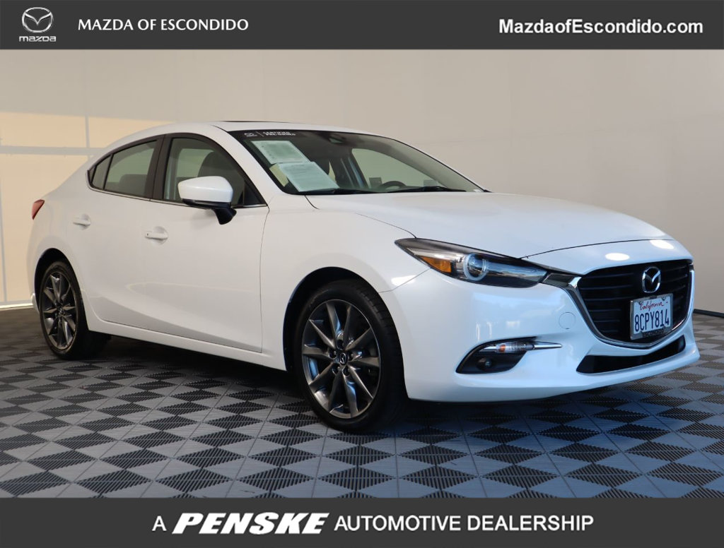 Certified Pre-Owned 2018 Mazda3 4-Door 4-DOOR GRAND TOURING AUTO