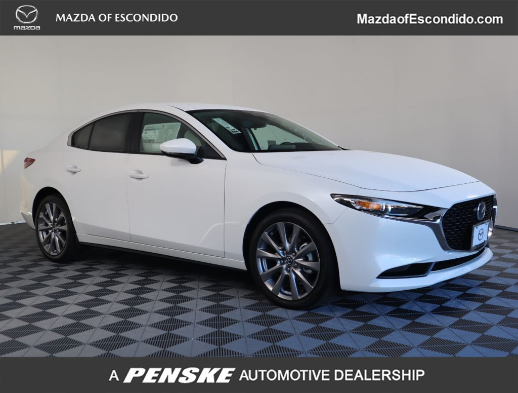 New 2020 MAZDA Mazda3 4DR FWD W/PREFERRED PKG