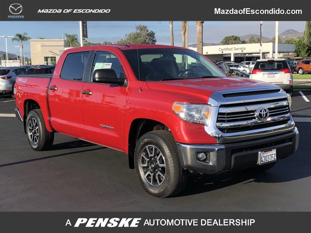 Pre Owned 2017 Toyota Tundra 4wd Sr5 Crewmax 5 Bed