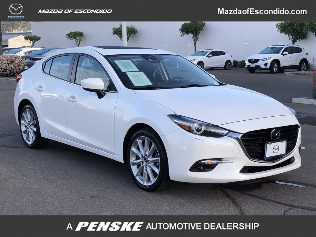 Certified Pre-Owned 2017 Mazda3 4-Door 4-DOOR 4DR GRAND TOURING AT
