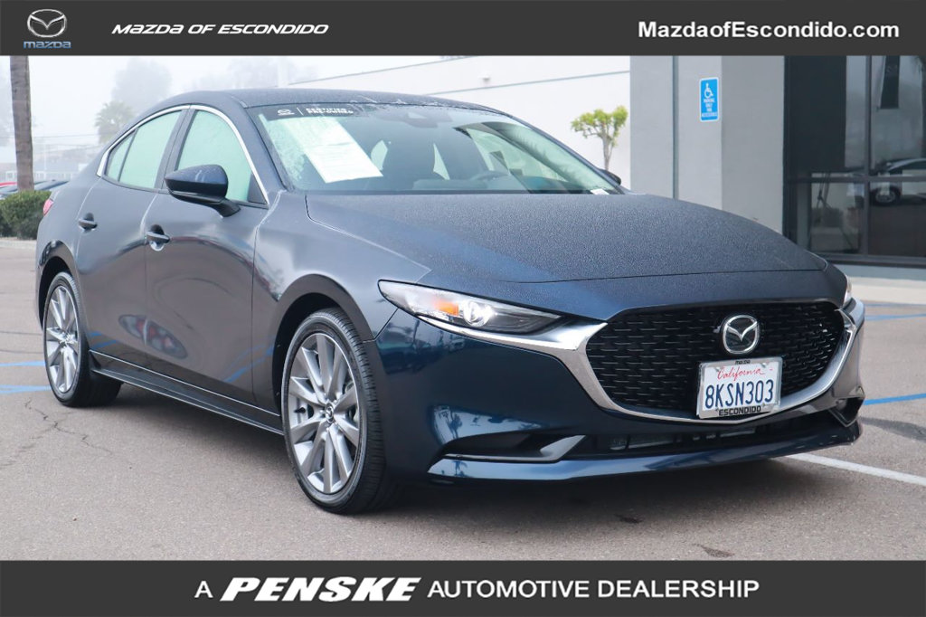 Certified Pre-Owned 2019 Mazda3 4-Door FWD w/Select Pkg
