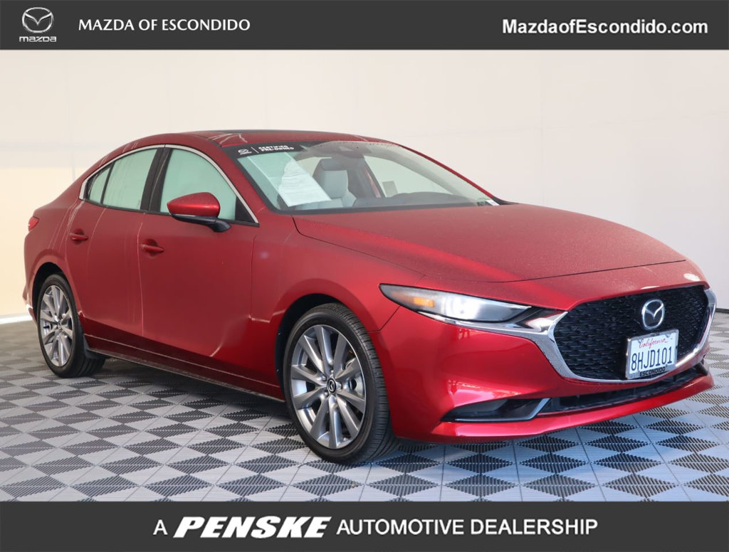 Pre-Owned 2019 Mazda3 4-Door FWD W/PREMIUM PKG
