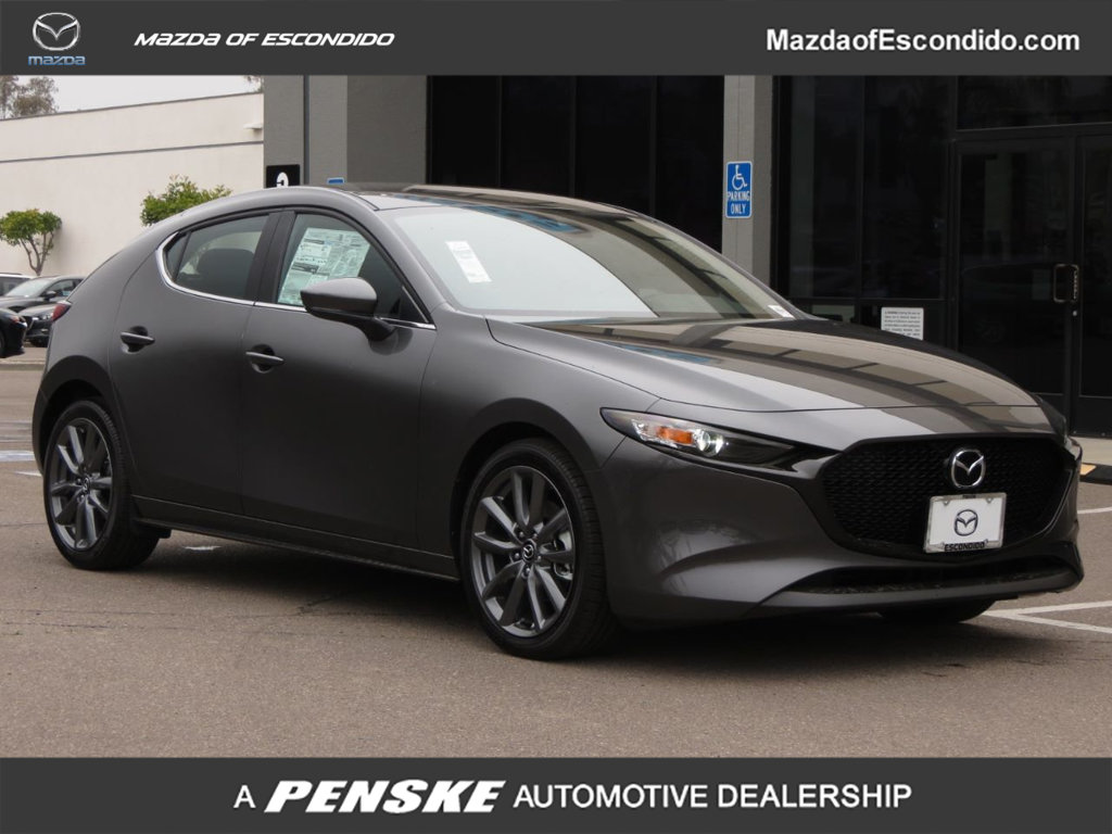 New 2019 Mazda3 5-Door AWD Automatic w/Preferred Pkg