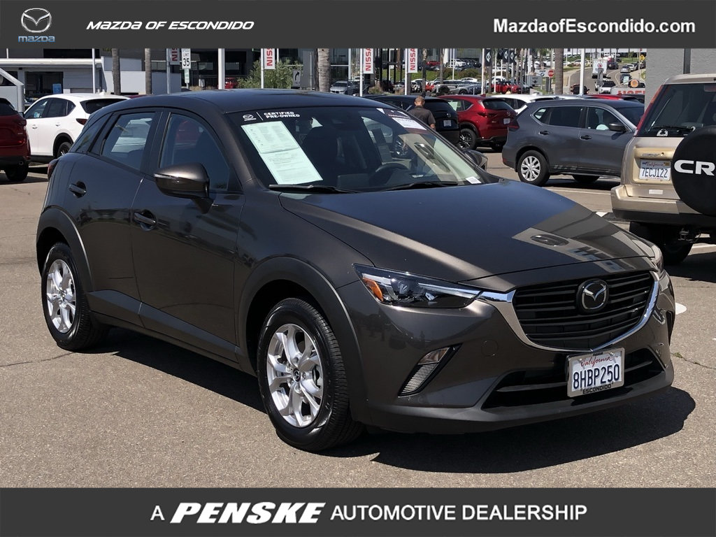Certified Pre-Owned 2019 Mazda CX-3 Sport FWD
