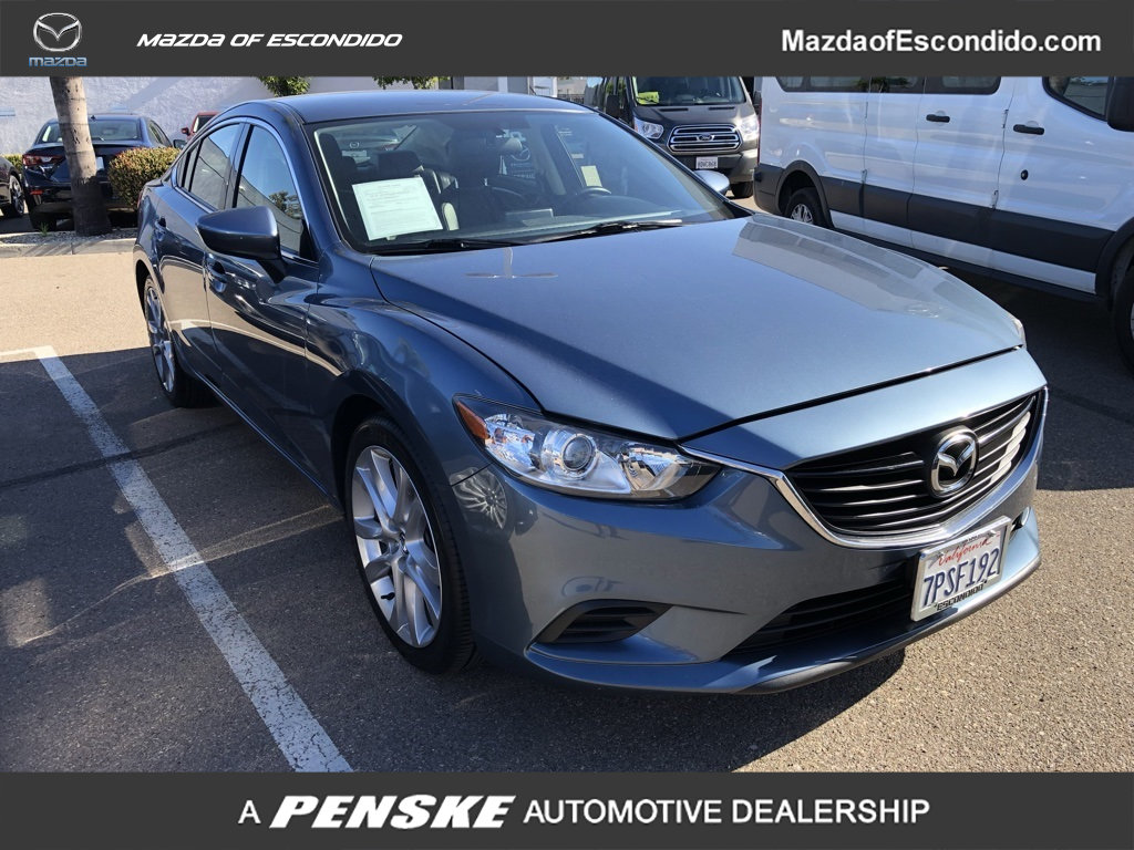 Pre-Owned 2016 Mazda6 4dr Sedan Automatic i Touring