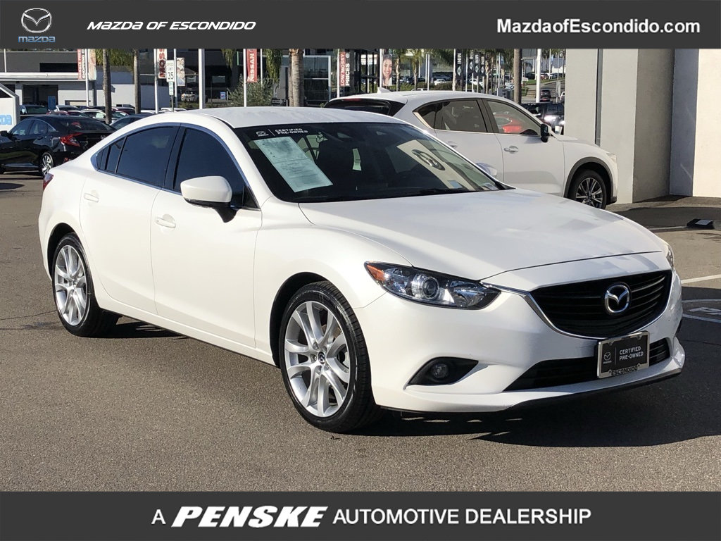 Certified Pre-Owned 2017 Mazda6 4DR SDN TOUR AT