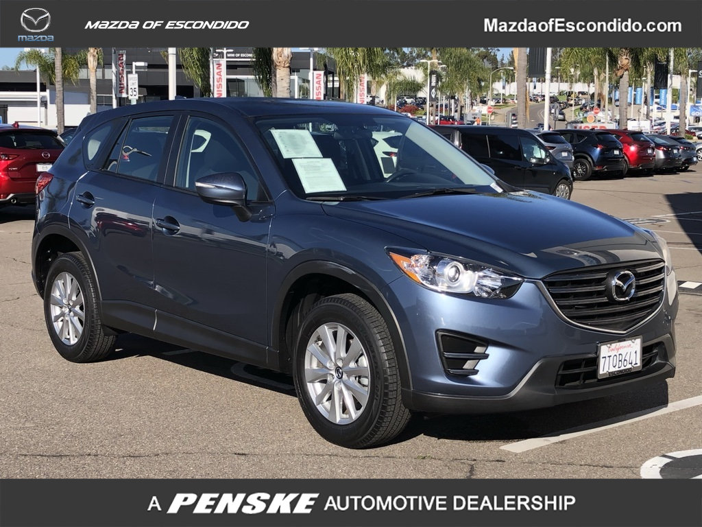 Certified Pre-Owned 2016 Mazda CX-5 2016.5 FWD 4dr Automatic Sport