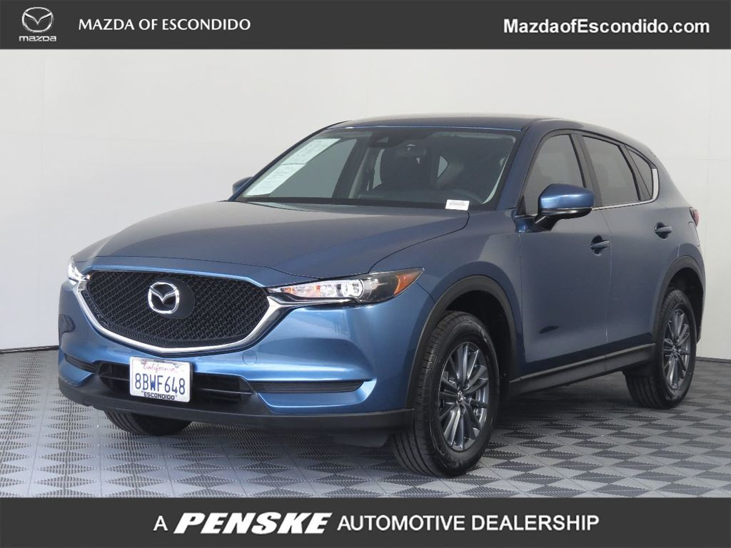 Certified Pre-Owned 2017 Mazda CX-5 4DR SUV SPORT FWD