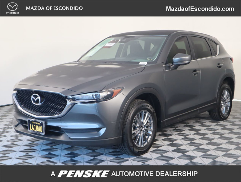 Certified Pre-Owned 2017 Mazda CX-5 TOURING FWD