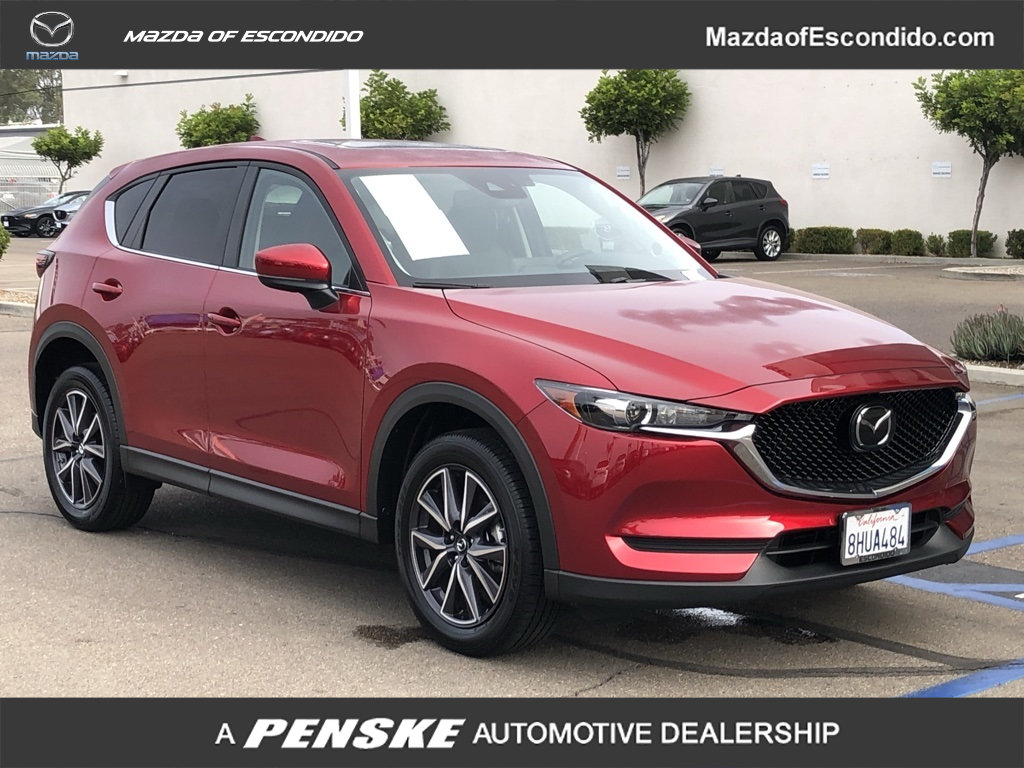 Certified Pre-Owned 2018 Mazda CX-5 TOURING FWD Front Wheel Drive Sport  Utility