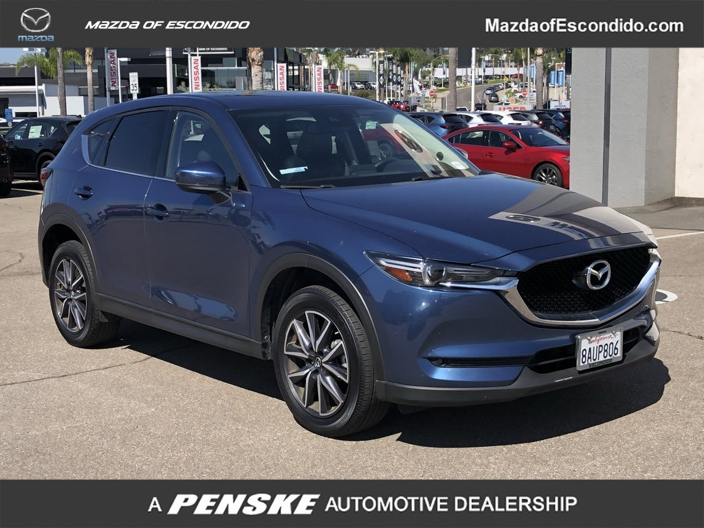Certified Pre-Owned 2017 Mazda CX-5 GRAND SELECT FWD