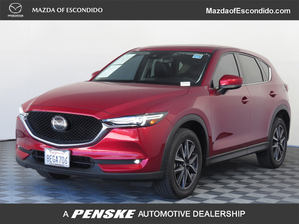 Certified Pre-Owned 2018 Mazda CX-5 4DR GRAND TOUR FWD