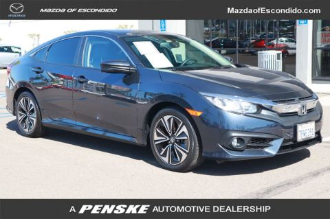 Pre-Owned 2016 Honda Civic Sedan SEDAN 4DR CVT EX-L