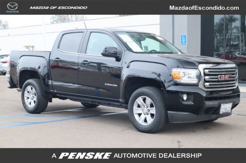 Pre-Owned 2015 GMC Canyon CREW CAB 128.3 SLE