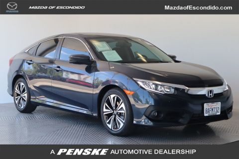 Pre-Owned 2017 Honda Civic Sedan EX-L CVT w/Navigation