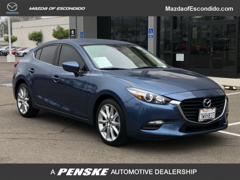 Certified Pre-Owned 2017 Mazda3 4-Door 4-DOOR 4DR SDN TOURING AT