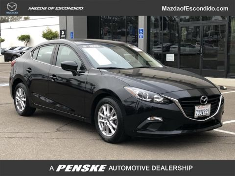 Certified Pre-Owned 2016 Mazda3 4DR SDN I SPT MT