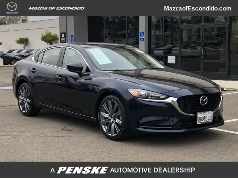 Certified Pre-Owned 2018 Mazda6 Grand Touring Automatic