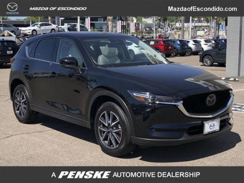 Certified Pre-Owned 2018 Mazda CX-5 GRAND TOURING FWD